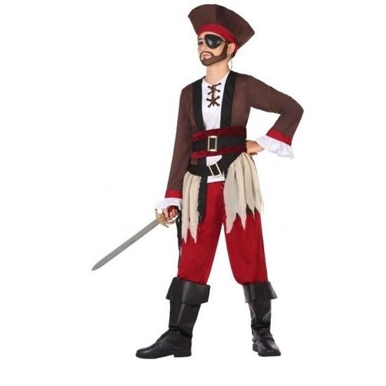 Piraten verkleed kostuum voor jongens