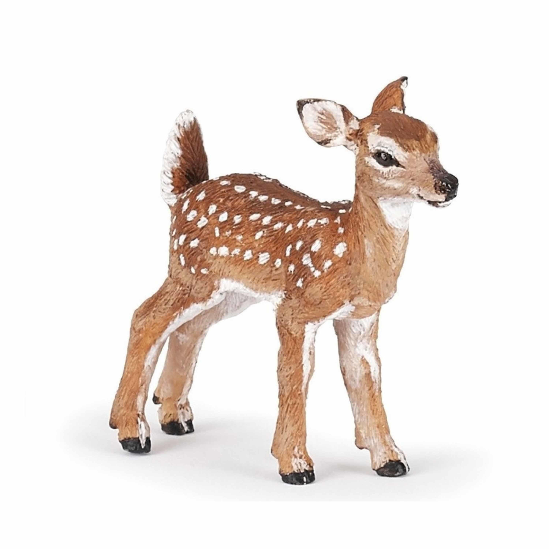 Plastic speelgoed figuur ree hertje 5,5 cm Bruin