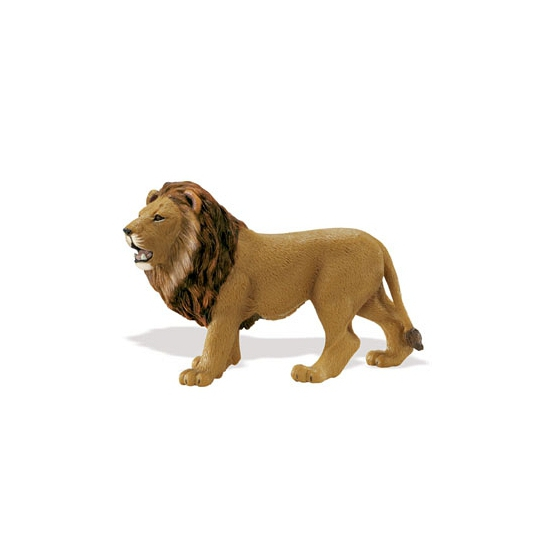 Plastic speelgoed leeuw 14 cm Multi
