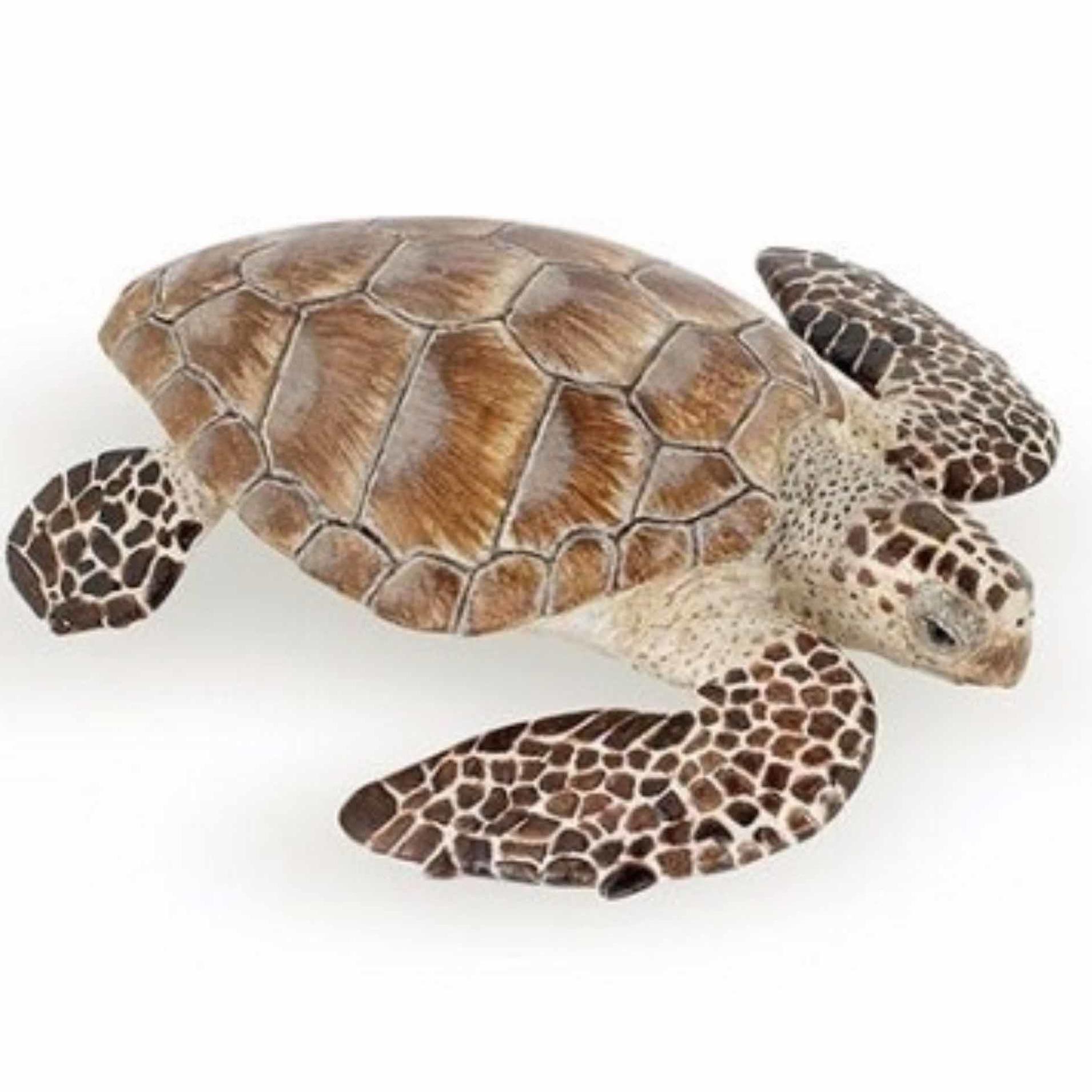 Plastic zeeschildpad 7,5 cm Multi