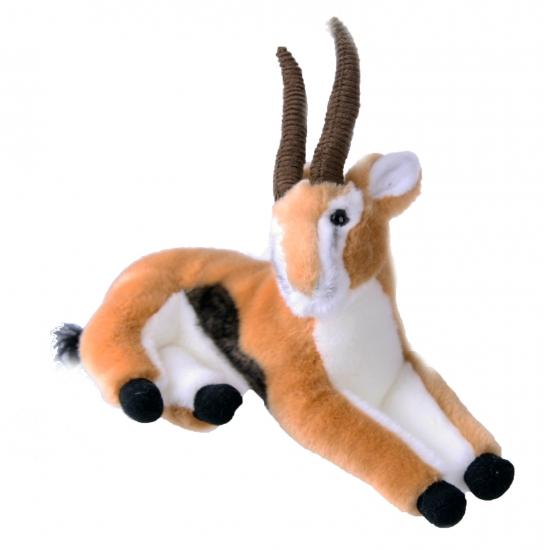 Pluche knuffel gazelle 30 cm Multi