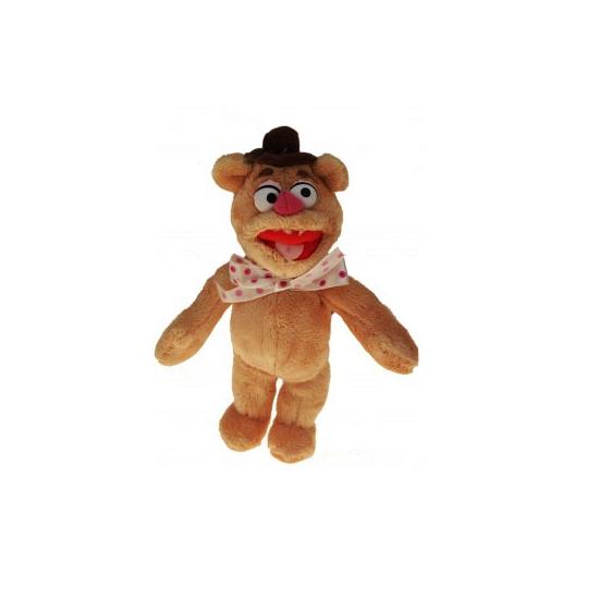 Pluche Muppet Fozzie beer/beren knuffel 35 cm