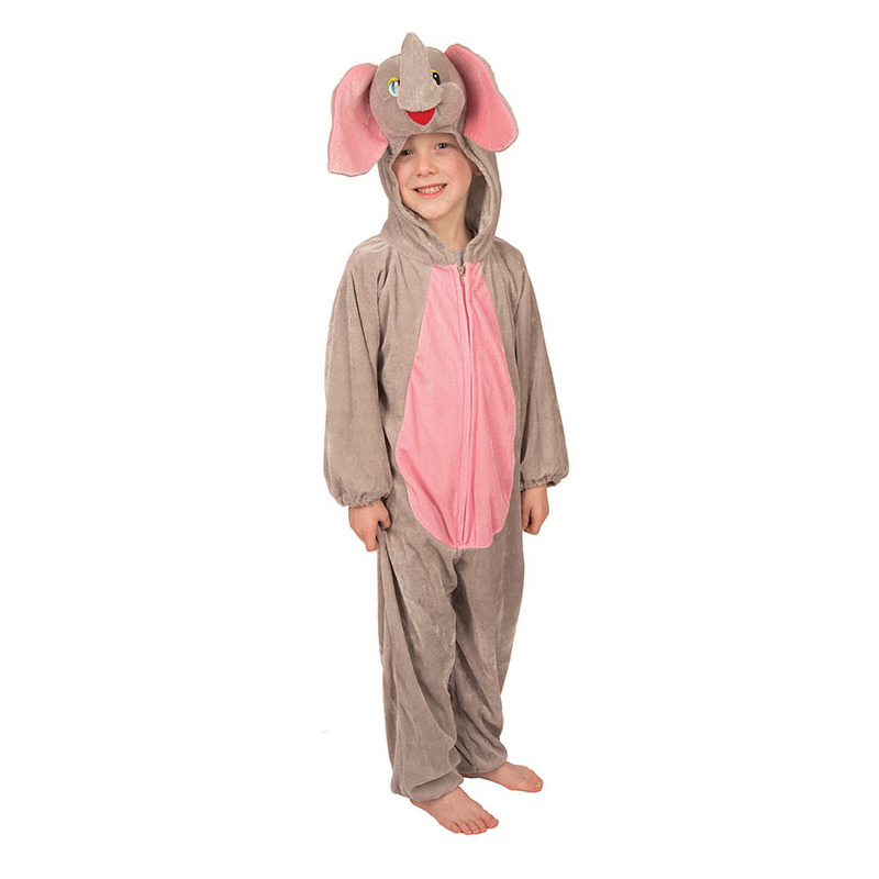 Pluche olifanten kostuum kinderen