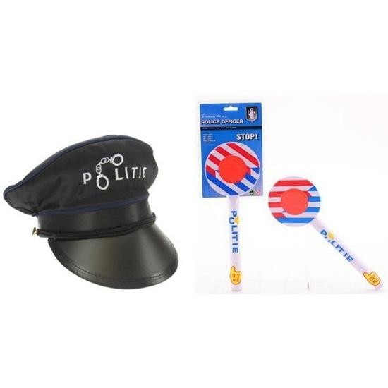 Politie accessoires verkleedset voor kinderen