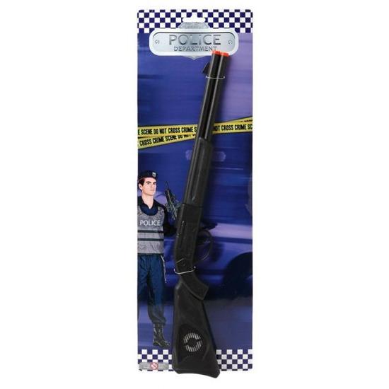 Politie/soldaten speelgoed verkleed geweer 56 cm