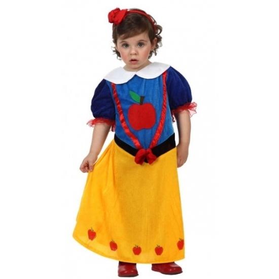 Prinsessen baby kostuum