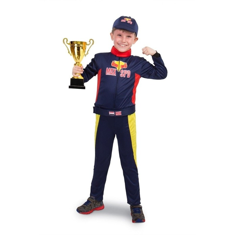 Race/Formule 1 kostuum voor jongens