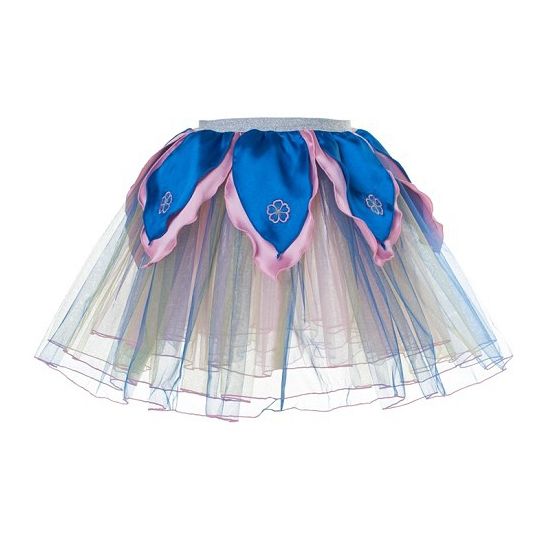 Regenboog petticoat/tutu rokje voor meiden