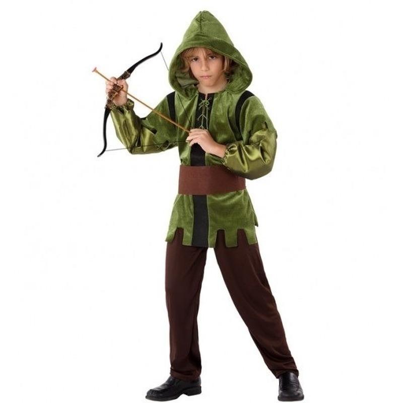 Robin Hood verkleed kostuum 3-delig voor kinderen
