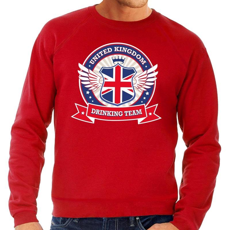 Rode Engeland drinking team sweater heren