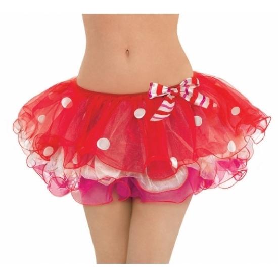 Rode Kerst tutu voor dames