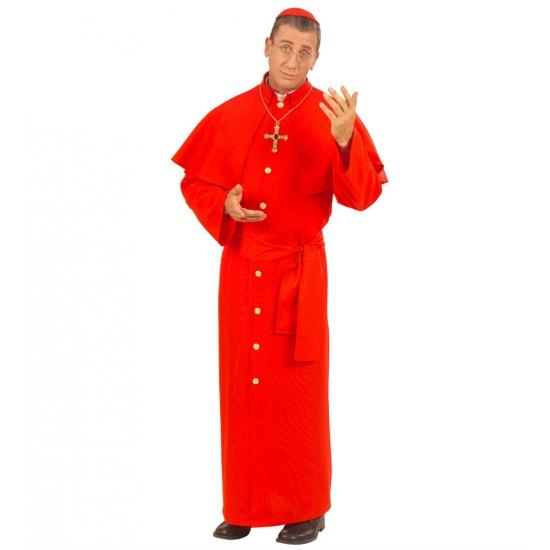 Rood Kardinaal kostuum