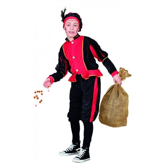 Rood Pieten kostuum voor kinderen