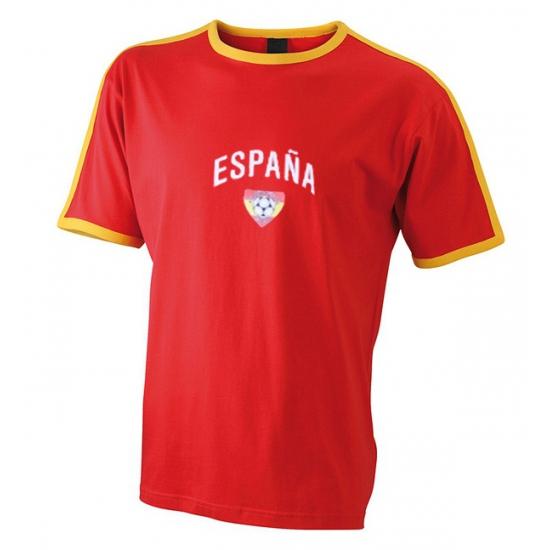 Rood voetbalshirt Spanje heren