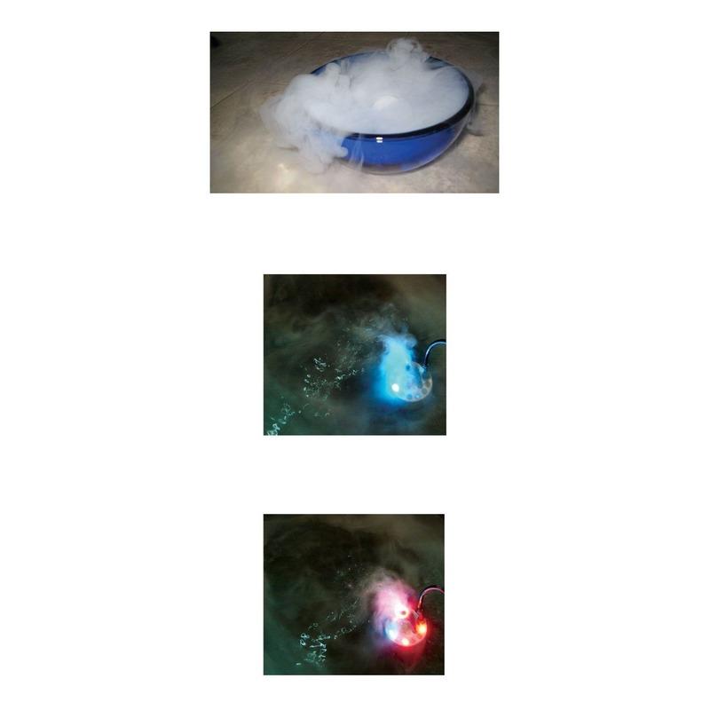 Rookmachine met licht