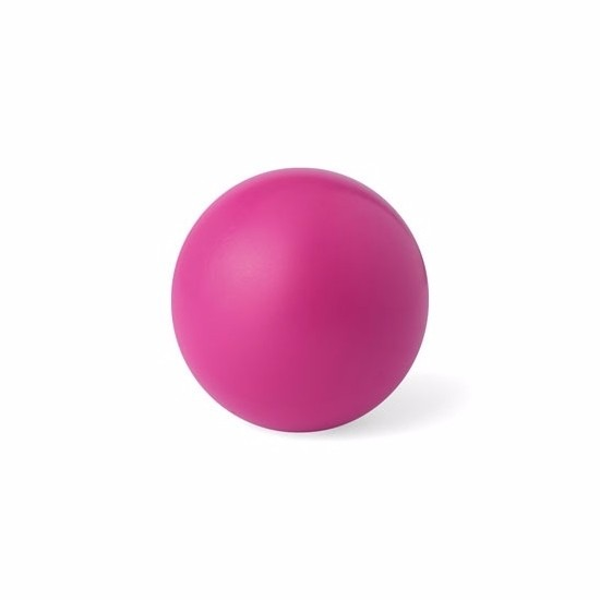 Roze anti stressbal 6 cm