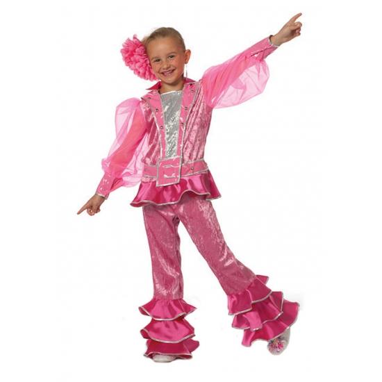 Roze Mama Mia kinder outfit