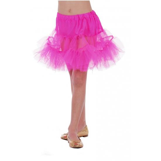 Roze petticoat/tutu voor kinderen