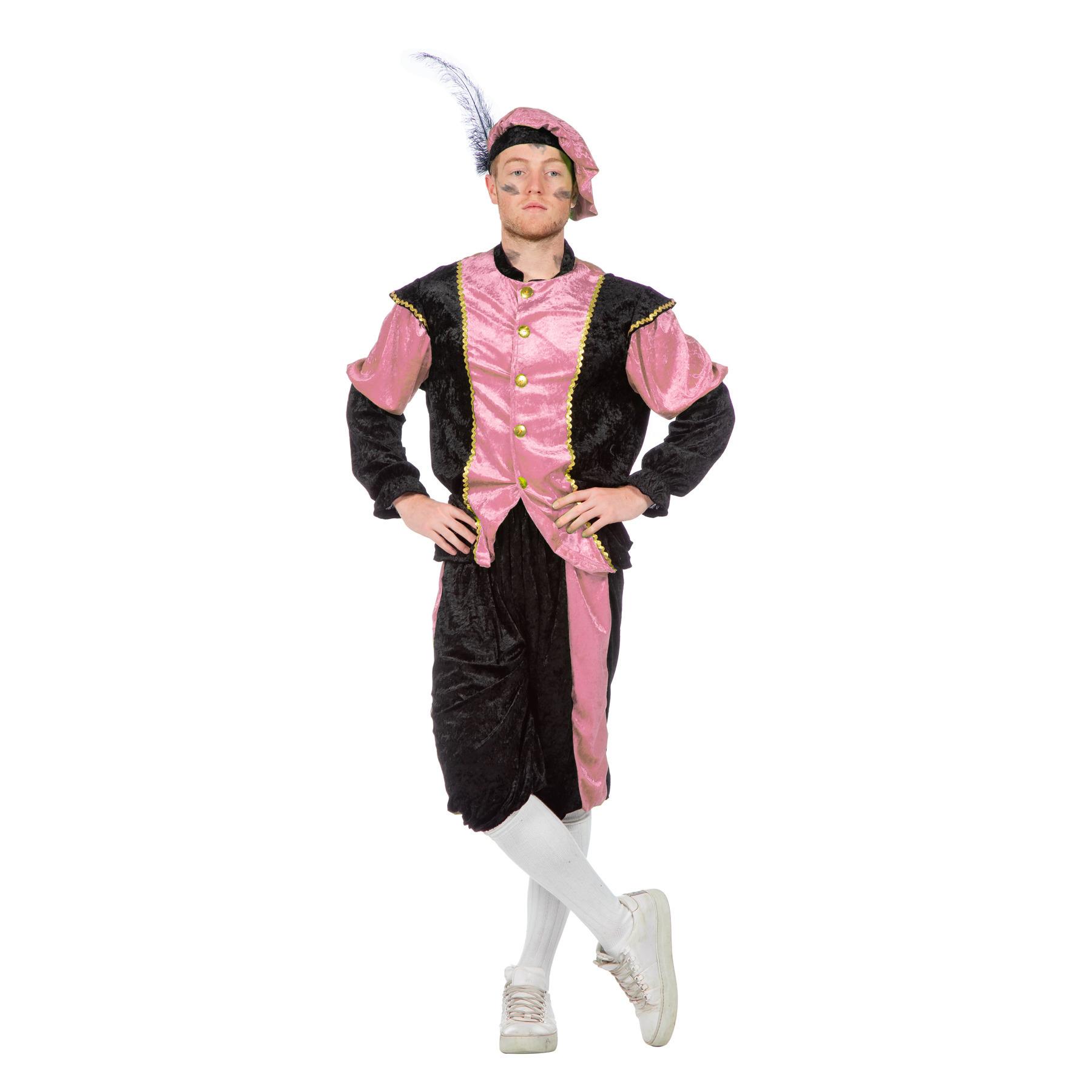 Roze Pieten kostuum budget