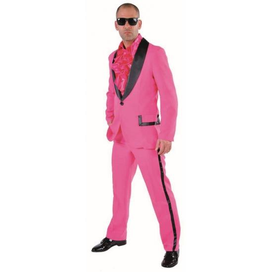 Roze smoking voor heren