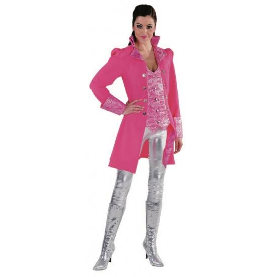 Roze theater jas voor dames