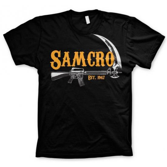 SAMCRO t-shirt voor heren