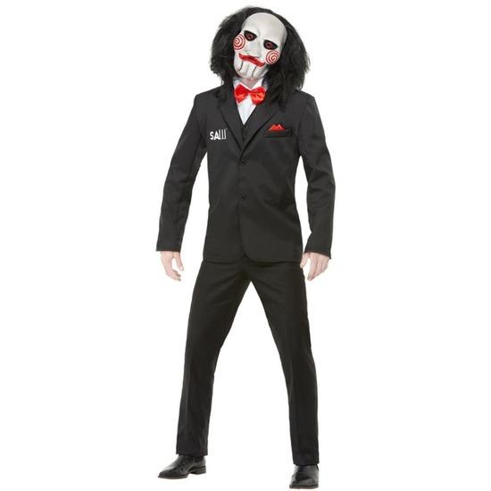 Saw Jigsaw Billy kostuum voor heren