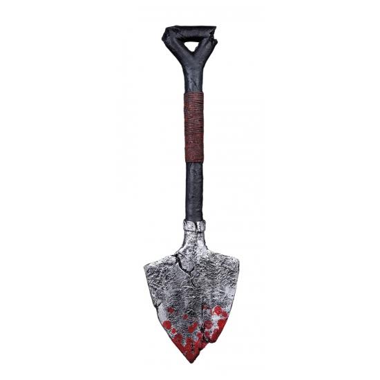 Schop met bloed horror decoratie 60 cm