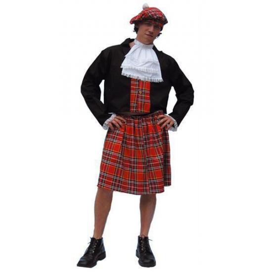 Schotse kilt kostuum heren