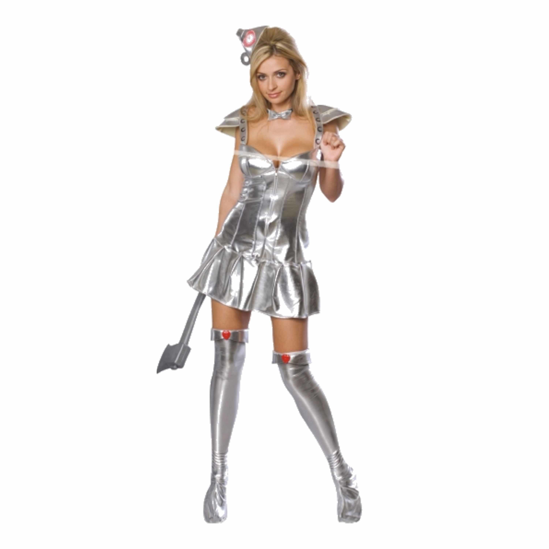 Sexy blikken vrouw kostuum zilver