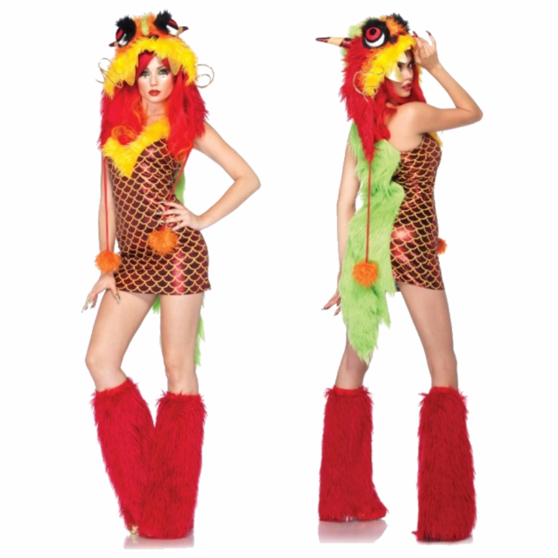 Sexy draak kostuum voor dames