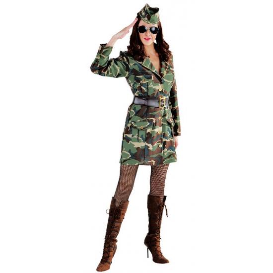 Sexy leger kostuum voor dames