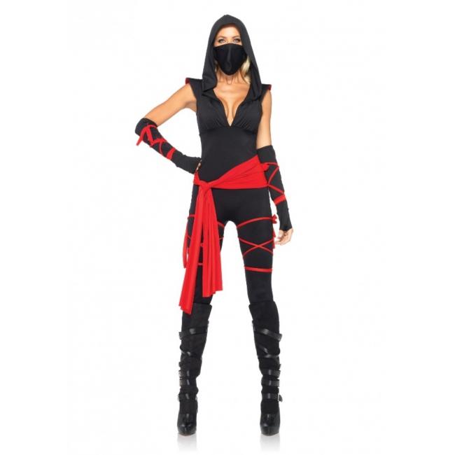 Sexy Ninja kostuum voor dames