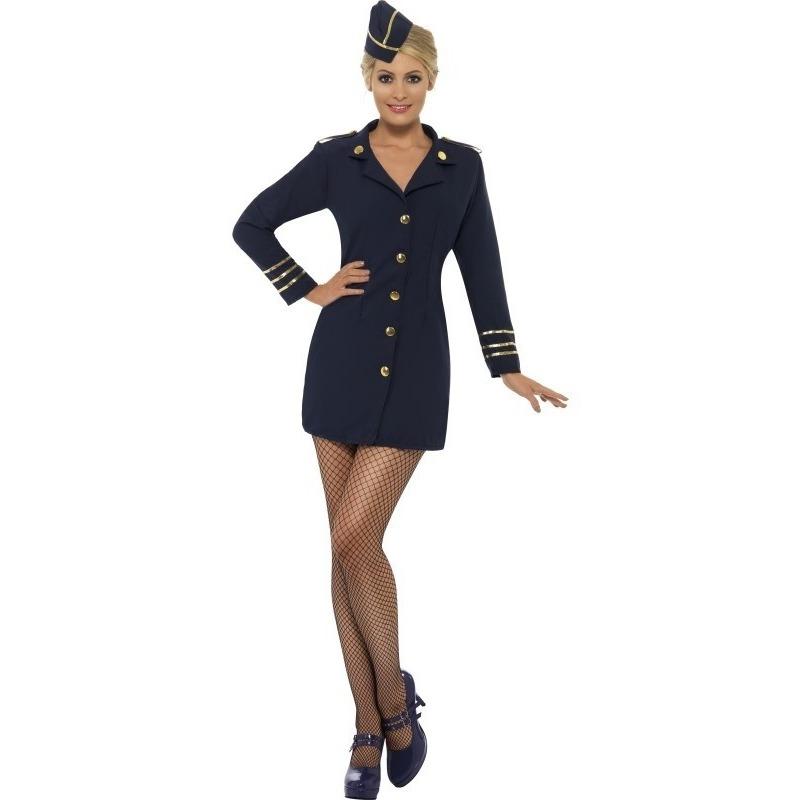 Sexy stewardessen jurkje voor dames