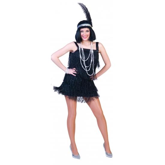 Showgirl jurkje voor volwassenen