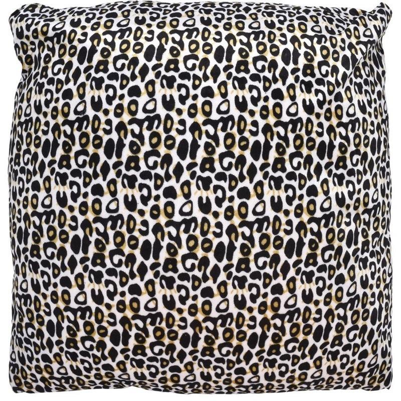 Sierkussen met cheetah dierenprint 45 cm
