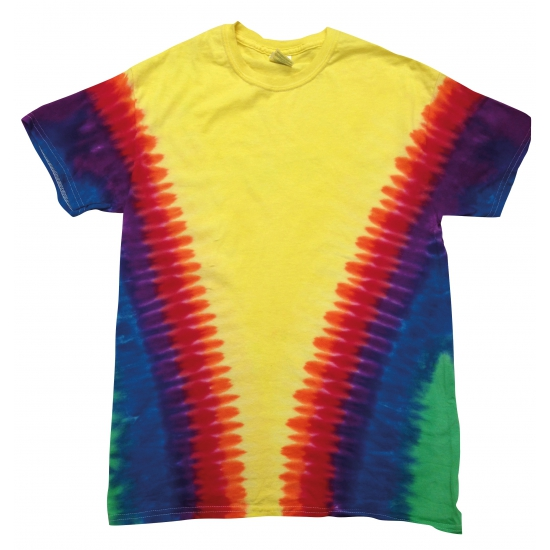 Sixties t-shirt rainbow