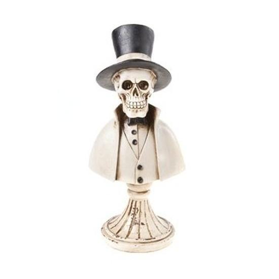 Skelet halloween decoratie beeldje 31 cm