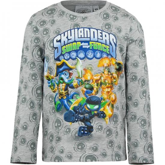 Skylander t-shirt grijs