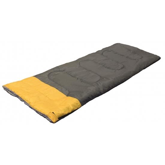 Slaapzak grijs/geel 190 x 75 cm