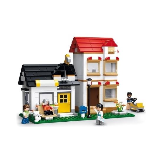 Sluban appartement bouwset