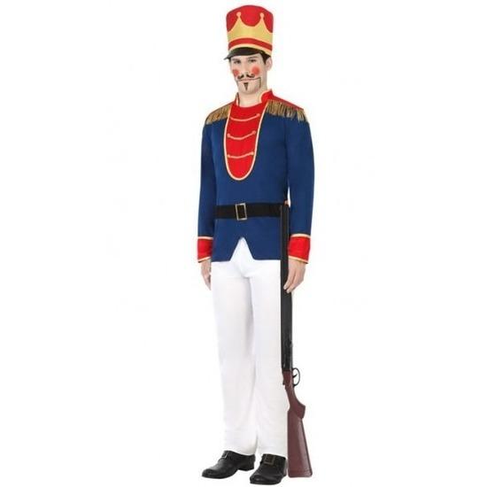 Speelgoed soldaat verkleed kostuum voor heren