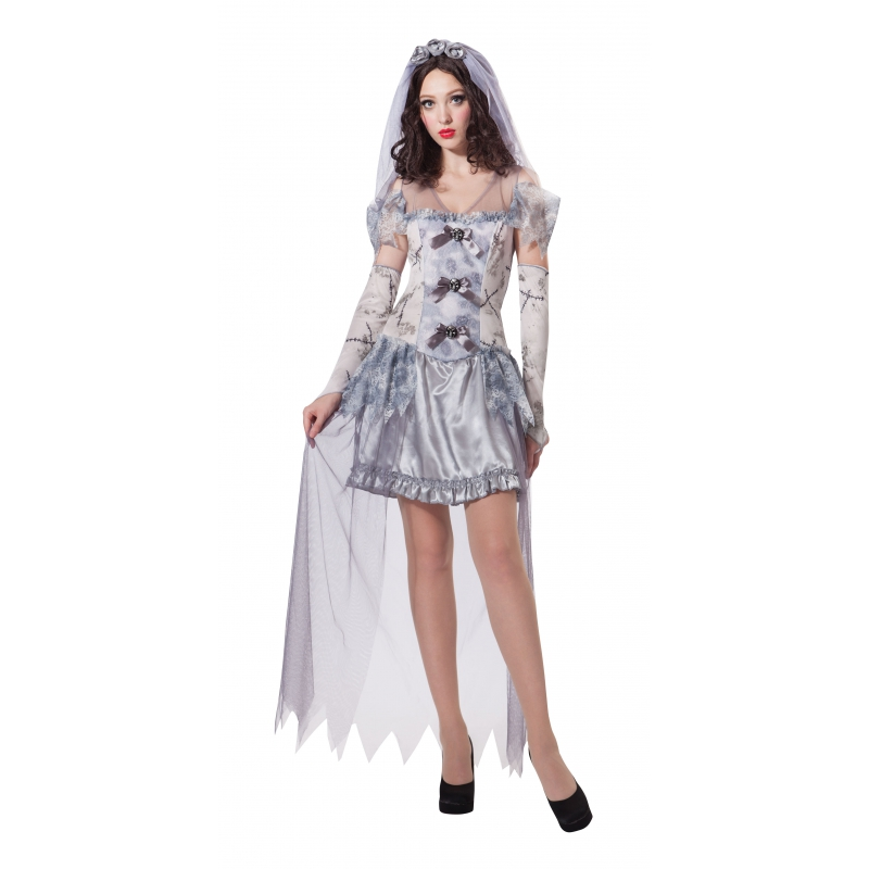 Spook bruid jurkje voor dames