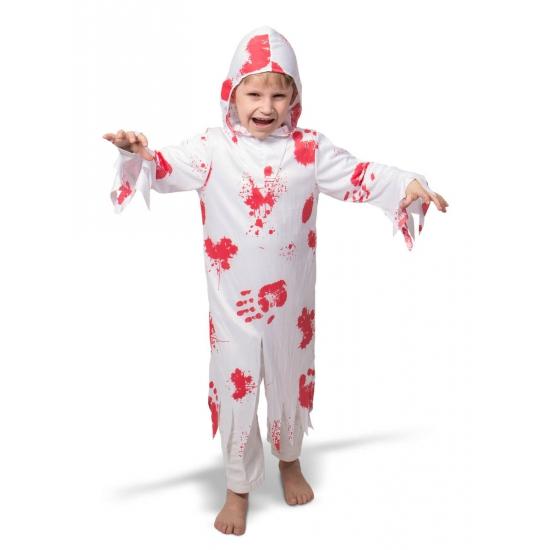 Spook kostuum met bloed voor kinderen