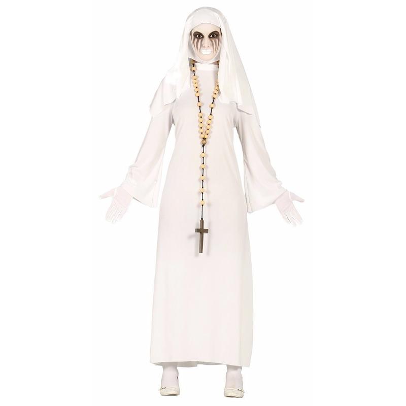 Spookachtige nonnen kostuum voor dames