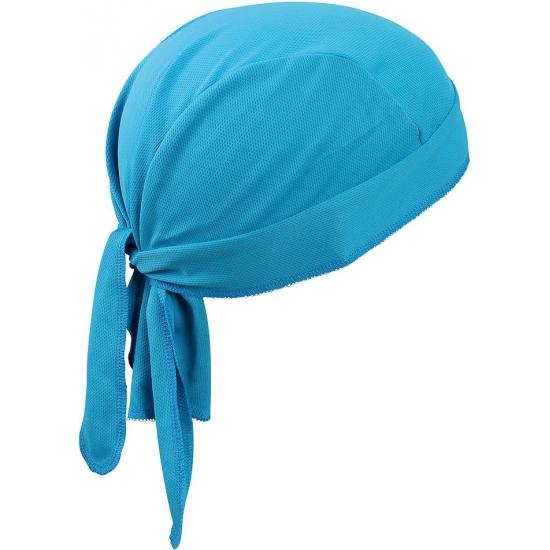 Sport bandana volwassen turquoise
