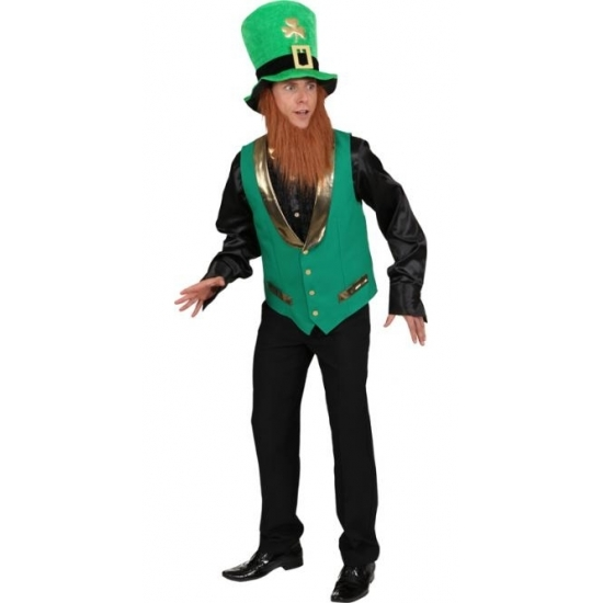 St Patricks Day gnoom vest voor heren
