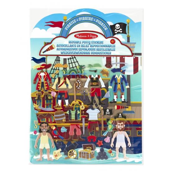 Stickerboek met piraten thema