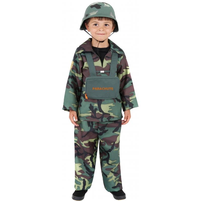 Stoer leger kostuum voor kinderen