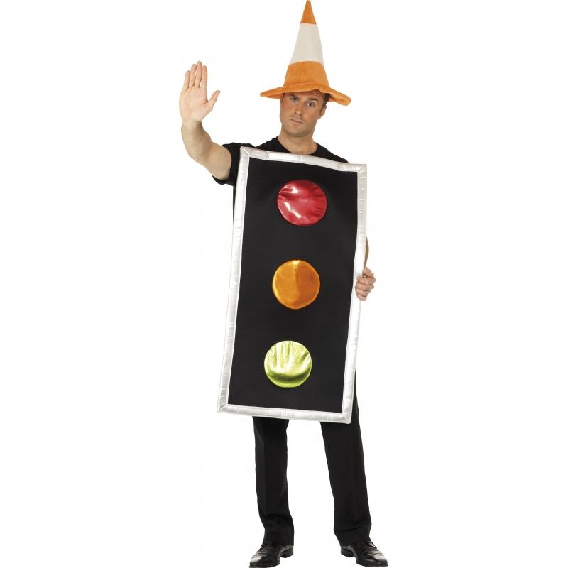 Stoplicht kostuum met verkeerspion